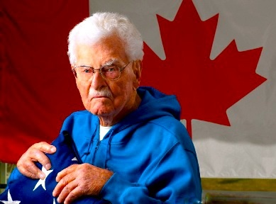 Jack Babcock ... We miss you!  Canada's last doughboy and Hero To Hero's oldest BadAss @ 109 years old!!!