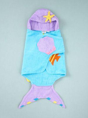 Kidorable Mermaid Hooded Towel. Leah would love this!