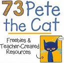 73 Cool Pete the Cat Freebies and Teaching Resources.    Pete the Cat is the go-to book for many kindergarten and elementary classrooms. Here are Pete the Cat freebies, videos and books listed all in one place so you won't have to go digging to look for them.