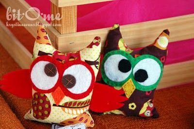 Owl Bean Bag FREE Pattern