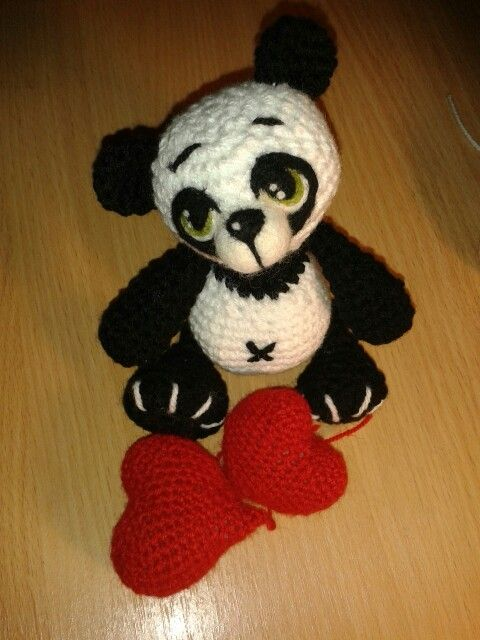 Amigurumi crochet toy mywork handmade