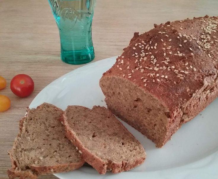 Rezept Eiweißbrot low carb, ohne Mandeln von keksfan - Rezept der Kategorie Brot & Brötchen