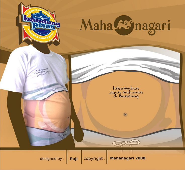 """Kebanyakan Jajan"" copyrights Mahanagari 2008"