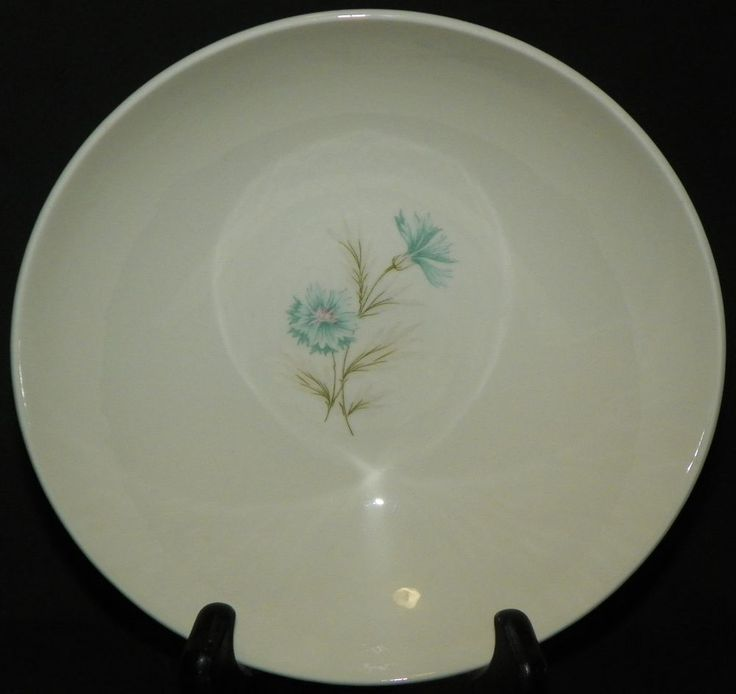 Taylor Smith Taylor Ever Yours Boutonniere 8.25 Inch Serving Bowl MCM Retro #TaylorSmithTaylor #MidCenturyModern