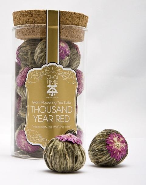 Thousand Year Red - Choi Time tea jar
