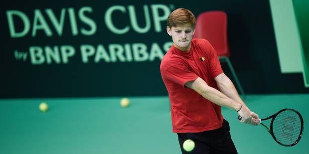 Coupe Davis: la Belgique commencera sans David Goffin