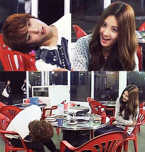 Goguma Couple playing around Kyaah!~Watch Goguma Couple Again @ http://wgmhammer.blogspot.com/2014/07/wgm-goguma-couple-eng-sub.html