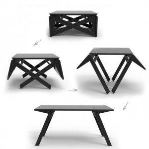 Деревянный стол трансформер. Журнальный или обеденный.