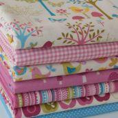 FQ Bundle Cottons: Flo's Garden, 7 Fabrics