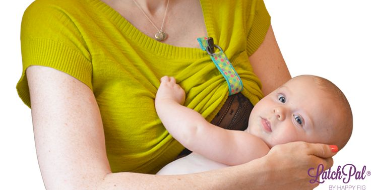 LatchPal › A breastfeeding clip that secures your shirt while nursing!