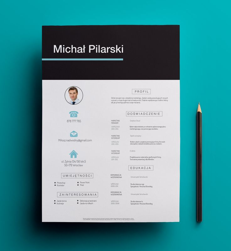 9 best Creative CV images on Pinterest Creative curriculum - find resume
