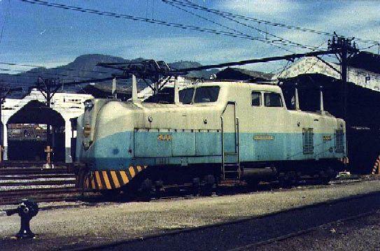 E.F.C.B. - Ferro de Engomar: Home Made Electric Locomotive