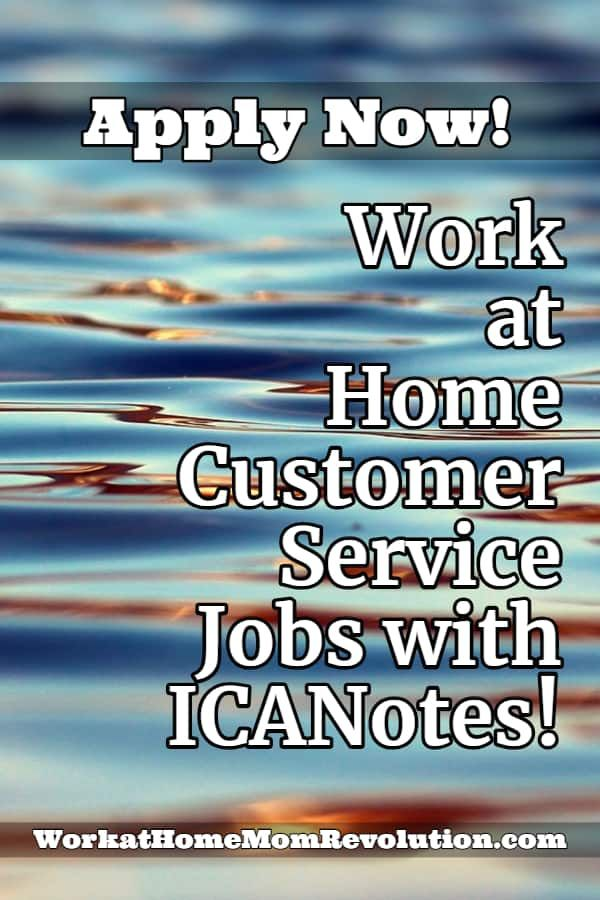 Icanotes Hiring Work At Home Customer Service Agents Across U S