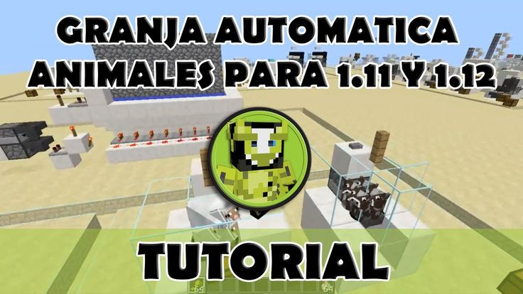 Tutorial Minecraft | Granja animales usando mobcap 1.11.2 y 1.12