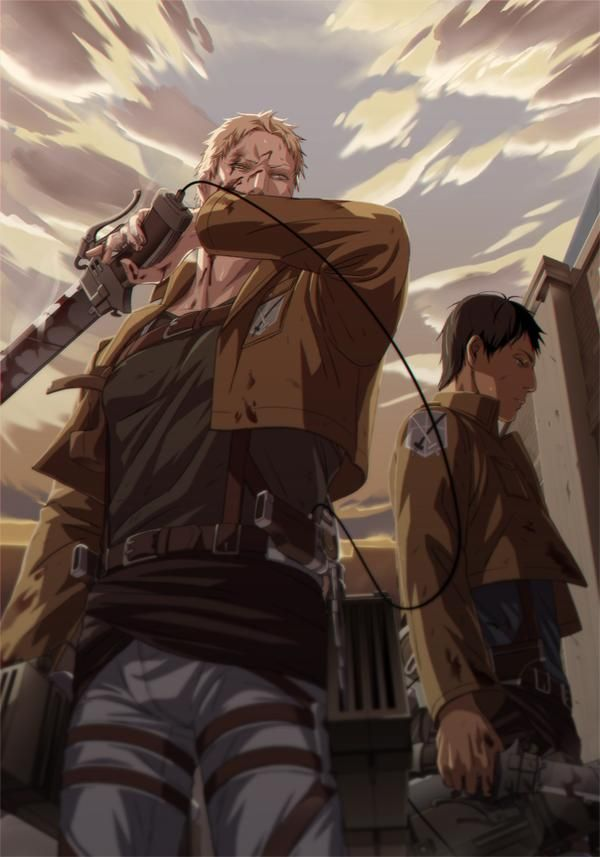 192 best Attack on Titan (Reiner) (Bertolt) images on ...
