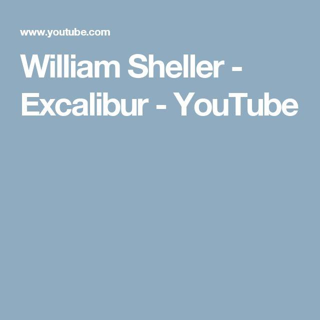 William Sheller - Excalibur - YouTube