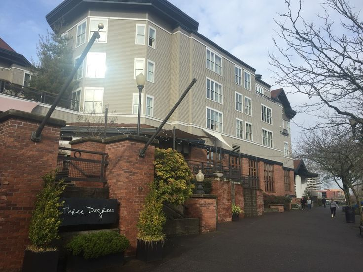 the RiverPlace Hotel, downtown Portland