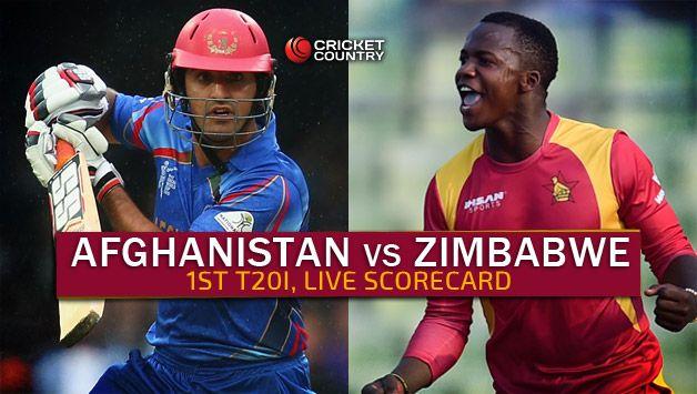 Live Cricket Scorecard: Afghanistan vs Zimbabwe 2015-16, 1st T20I at Sharjah