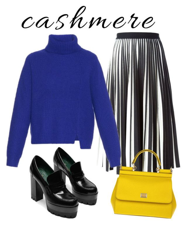 """""""Proenza cashmere"""" by ralugoii on Polyvore featuring Proenza Schouler and Dolce&Gabbana"""