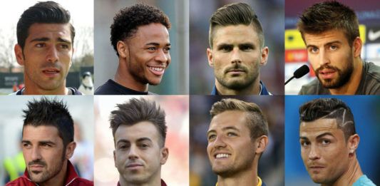 Soccer Player Haircuts 2017