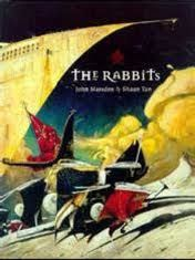 The Rabbits by John Marsden, illustrated by Shaun Tan. Described as an allegorical fable, The Rabbits looks at colonization. With surrealist illustrations and sparse text, this award-winning and controversial (at the time of publication) book can be the catalyst for deep discussion. Check Youtube for this title too.