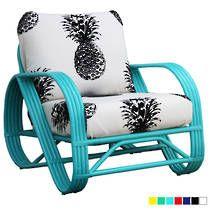 Pretzel Pineapple Lounge Chair