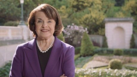 6/6/17 84 year-old, over 40 years of 1st's in office - Sen. Dianne Feinstein's rise: How one badass woman fought to keep going; revisits dreadful day of Harvey Milk's assassination CNNPolitics.com