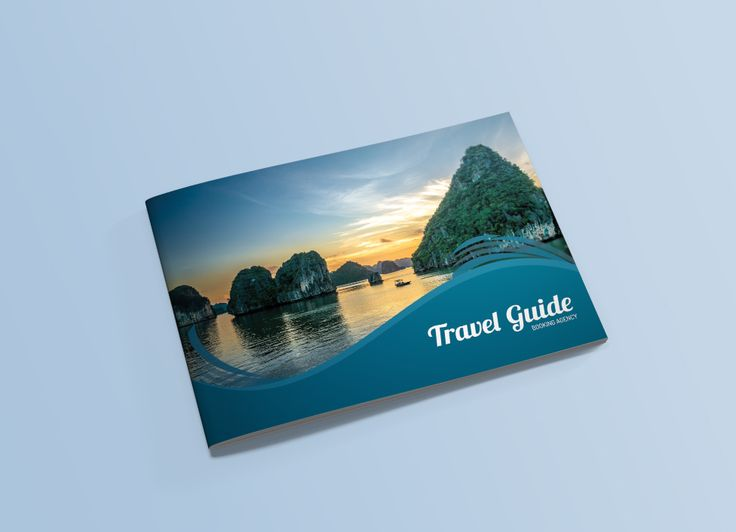 Best Travel Brochure Examples With Enticing Designs Images On