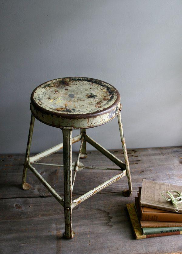 Industrial looking chair