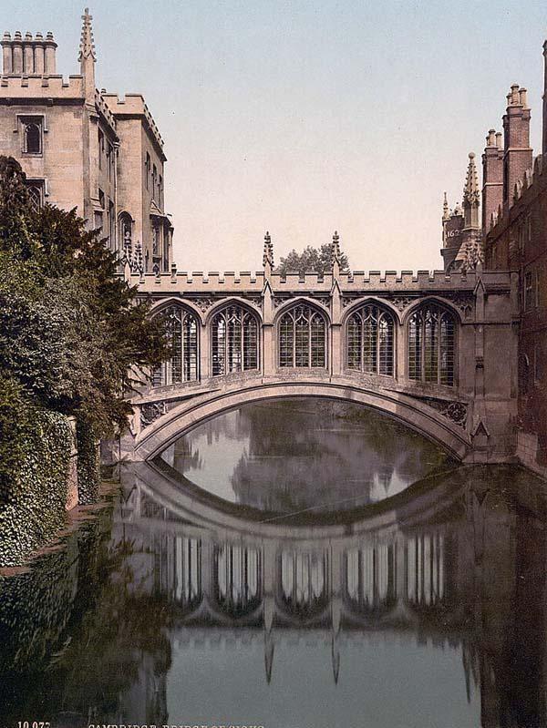Cambridge, England  (Bridge of Sighs)