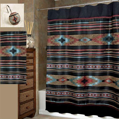 Santa Fe Southwest Shower Curtain by Veratex