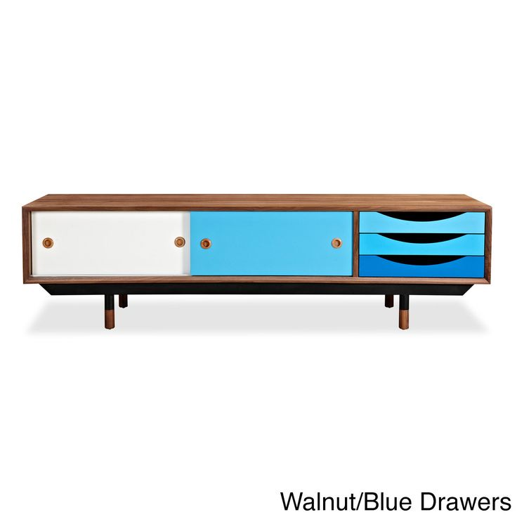 Kardiel Color Theory Midcentury-modern Media Cabinet (