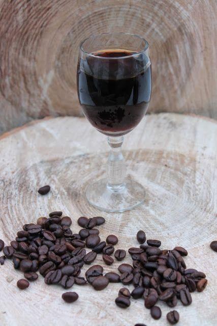 Coniac de cafea (de casa)