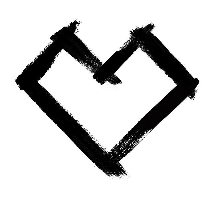 typography hearts meli schreiber - photo #23
