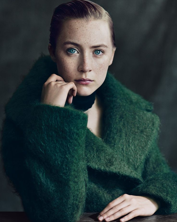 Poised on the edge of adulthood, the Irish actress Saoirse Ronan still lives at home with  her parents.