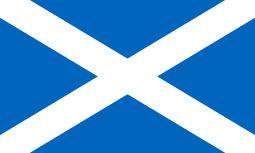 Flag of Scotland St. Andrews Cross saltire