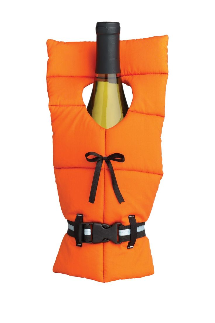 Throw me a line, I mean wine! Life Preserver Bottle Cover by Boston Warehouse on @HauteLook Wedding planning, save the date, party invite! Use your imagination says PJ. @destinationweddings.travel @wildsidedestinations