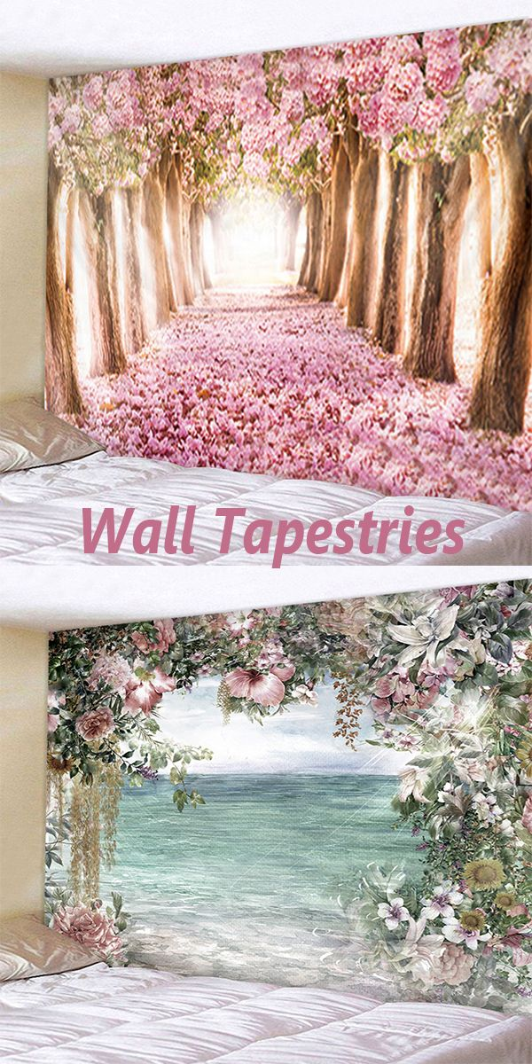 Inspiration and ideas for wall DIY. The art of wall tapestry modern wall decor ideas. #dresslily #flower #homedecor #ideasforbedrooms #decoration #diyideas