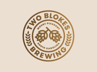 Two Blokes Brewing - Jay Fletcher #design #logo