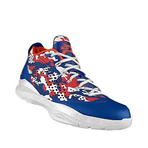 Nike Jordan CP3.VII (Game Royal Camo/White/Orange Blaze)