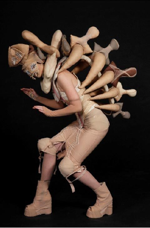 Hide in My Bone Shadow, by Marjolein van der Wal (Netherlands).