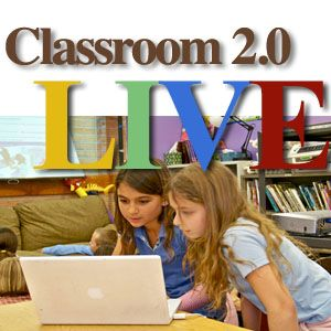 "Welcome to Classroom20.com, the social network for those interested in  Web 2.0, Social Media, and Participative Technologies in the classroom. Classroom 2.0 is a free, community-supported network. We especially hope that those who are ""beginners"" will find this a supportive comfortable place to start being part of the digital dialog."