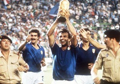 World Cup Champions 1982. Italy.