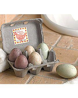 Egg Soaps from Gardener's Supply