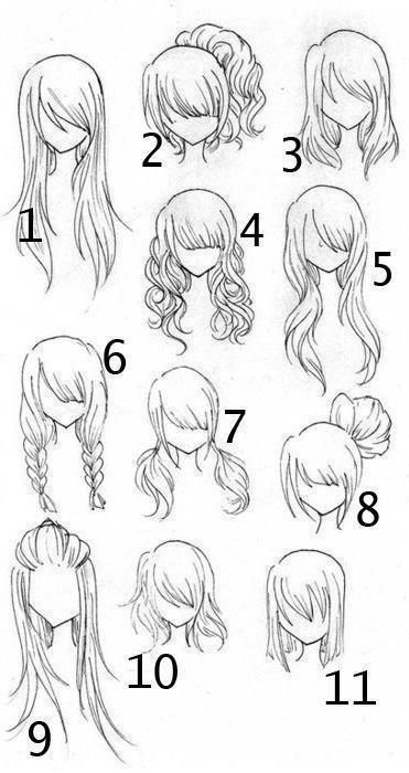 Superb 1000 Ideas About Anime Hairstyles On Pinterest Anime Hair Hair Short Hairstyles Gunalazisus