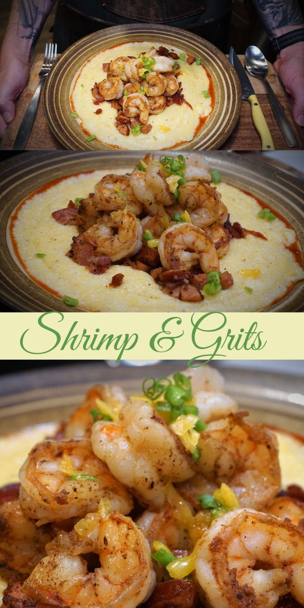 Jun 9, 2020 – A Southern staple, this flavorful Shrimp and Grits can be enjoyed at any meal! The thick, creamy, stone gr…