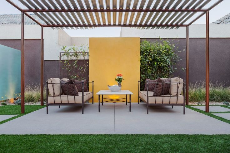 17 best ideas about metal pergola on pinterest modern for Metal frame pergola designs
