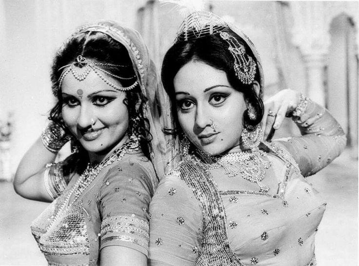Reena Roy and Bindiya Goswami in a still from the movie Jay-Vejay (1977)
