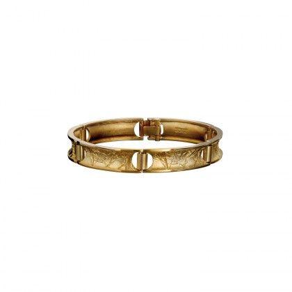 Circlin' Bracelet / Design: Christophe Burger / Gold Bracelet / Lapponia Jewelry / Handmade in Helsinki