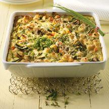 Laat het brood weg, voeg in plaats daarvan kip en/of extra groenten toe voor een kh-arme variant